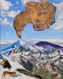 Bjergets ånde, 19x24