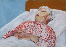 Min mors dødsleje, 66x47